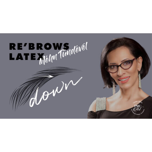 RE'BROWS Down Latexes Bemutató - Méhn Tündével