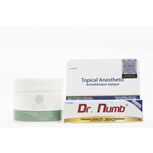 Dr. Numb fehér érzéstelenítő krém - 10 gramm - Ajándék Pigment Booster Balm