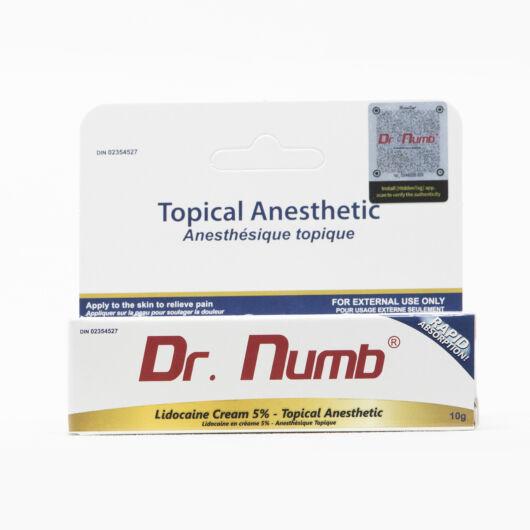 Dr. Numb fehér érzéstelenítő krém - 10 gramm