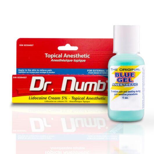 Érzéstelenítő csomag (1db Dr. Numb és 1db Blue Gel)