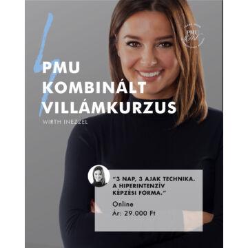 ONLINE KOMBINÁLT SZEMÖLDÖK PMU VILLÁMKURZUS - Wirth Inezzel