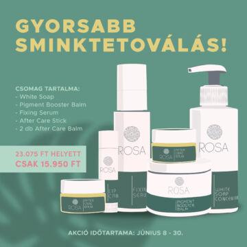 Rosa Herbal Skin Care PMU csomag