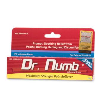 Dr. Numb érzéstelenítő krém - 30 gramm