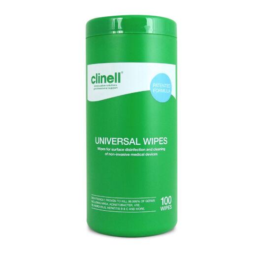 Higiéniai törlőkendő - Clinell univerzális fertőtlenítőkendő - 100 db
